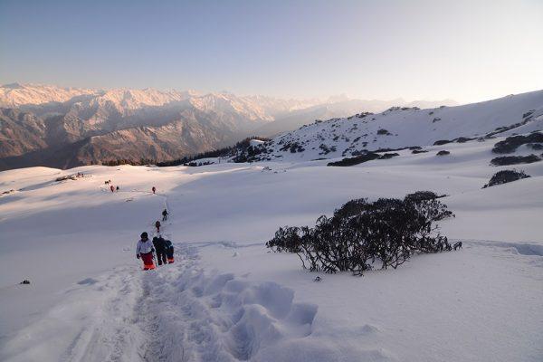 Kedarkantha-trek-Way-to-Kedarkantha-summit